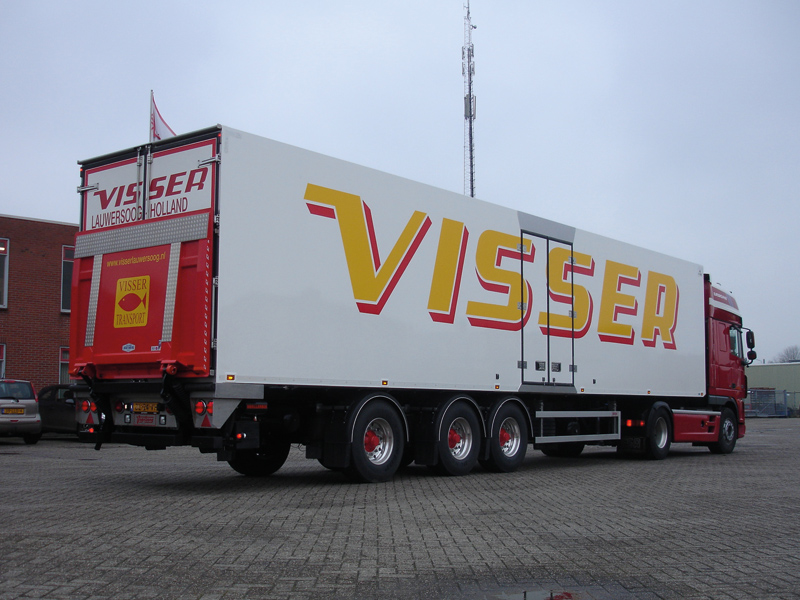Vogelzang geconditioneerd transport - Visser Lauwersoog